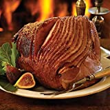 RANCH HOUSE MEAT COMPANY, HONEY GLAZED SPIRAL SLICED HAM, 14-16LBS, MESQUITE SMOKED