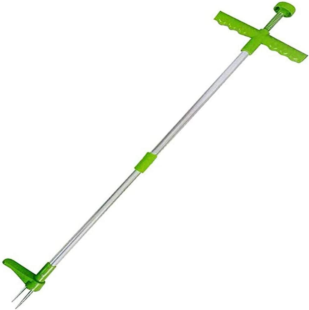 REIGEE Standing Plant Root Remover Stand Tool Manual Weeder 5 ☆ popular Cheap mail order shopping Up