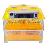 Olibelle Incubateur d'Oeufs Automatique Appareil à Couver Couveuse Oeuf Automatique Couveuse Incubateur 112 Oeufs