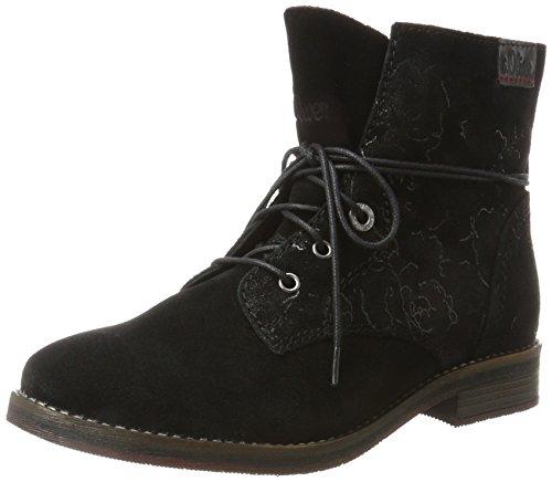 s.Oliver Damen 25243 Chukka Boots, Schwarz (Black Flower), 37 EU