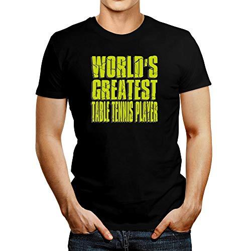 Idakoos World Greatest - Camiseta de tenis de mesa - negro - Medium