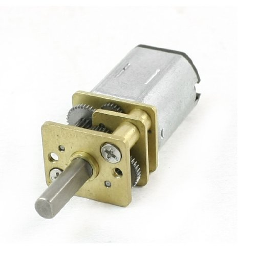 Sourcingmap a13110700ux0220-100 rpm 6v dc engranaje terminal 2 micro motor reductor de...