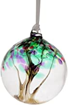 Spring Tree of Life Small Glass Friendship Ball