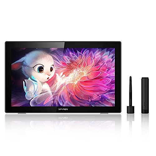 XP-PEN Artist 22 (2a generazione) Tavoletta grafica con schermo da 21,5 pollici, Display Interattivo con Penna con 86% NTSC colori Gamut per Disegno Digitale, supporta Windows e Mac