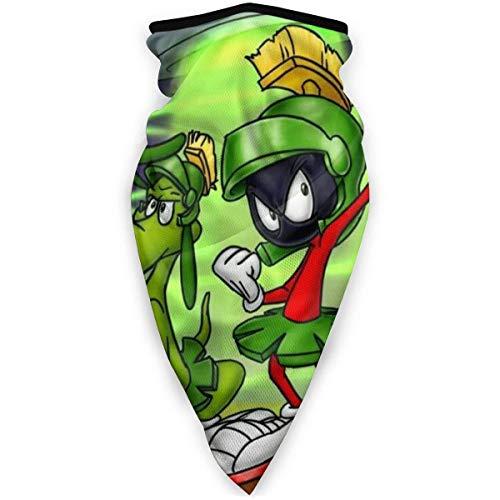 YUIT Marvin The Martian Planet Wiederverwendbarer winddichter Sport für Männer und Frauen Wärmerer Mundschutz