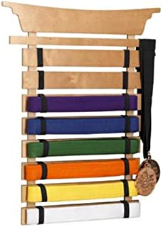 karate belt and medal display case