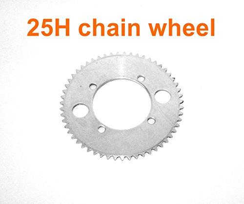 L-sneller elektrische motorfiets vervanging tandwiel voor 25H ketting elektrische scooter Dirt fiets Reserve ketting wiel voor 50CC 2 takt kettingwiel