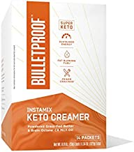 Bulletproof Keto Coffee Creamer InstaMix, 14 Pack, MCT oil Powder with Grass-Fed Butter for Sustained Energy