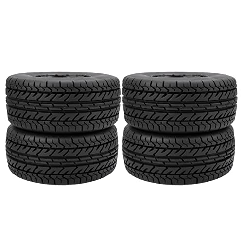 Wolfberrymetal Rueda RC Duradera 1:10 Neumáticos de camión de Recorrido Corto 12 mm Buje Hexagonal para Traxxas Slash HPI VKAR Redcat HSP (10044)