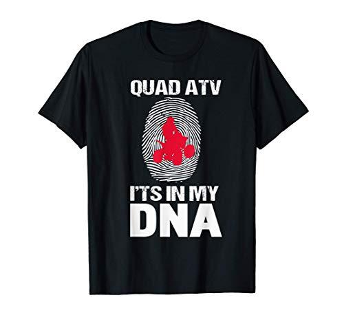 Quad ATV - Está en mi ADN Regalo para el amante de los Quad Camiseta