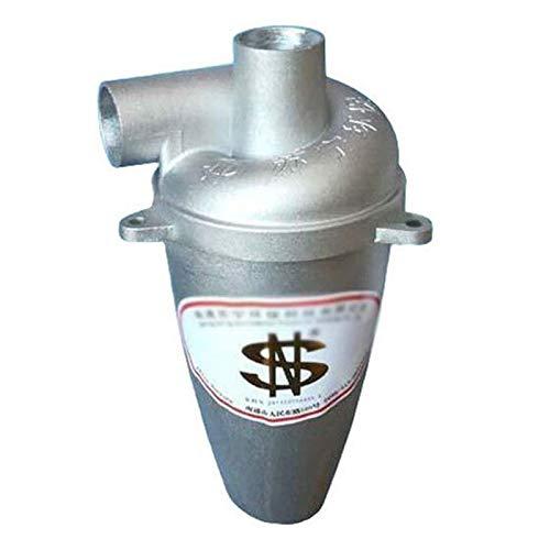 Zyklon Staubabscheider Dust Filter, Fünfte Generation Aluminium Legierung Hochleistungszyklon Pulver Staub Sammler Filter Fliehkraftabscheider Energieffizienzklasse A für Vakuum (1 pc)