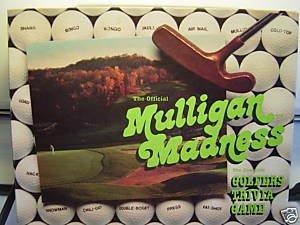 Mulligan Madness Golfers Gioco Trivia (1986)
