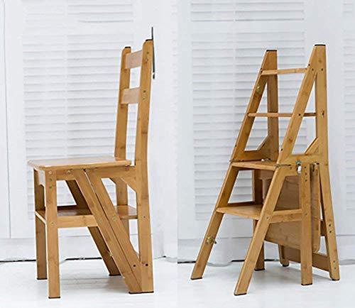 ZHICHUAN Trittschemel Für Erwachsene Klappstuhl Treppe Haushalt Multi Layer Speicher Leiter Dual-Use-Blumen-Standplatz / H2 / H2