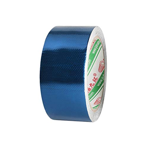 Dekzeil Reparatie Tape - Awning Canvas Waterdichte Reparatie Tape Zelfklevende Reparatie Tape Kit voor Tarp, Tent, Luifel, Cover, Zeil -Dikke Doek Duct Tape Blauw, Groen 45mm wide x 8m long Blauw