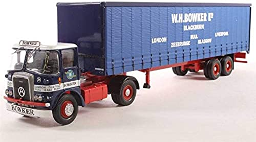 Atkinson Borderer + Tautliner Semitrailer 'W.H. Bowker Ltd' - 1 50 - Corgi