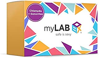 myLAB Box STD at Home Test for Women Chlamydia & Gonorrhea CLIA Lab Certified Results