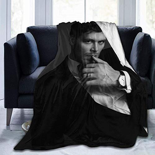 Yuanmeiju Plüsch Decke, Vam-Pire Klaus-Mikaelson Flanell Fleece Decken für Couch Sofa 80 'X60'