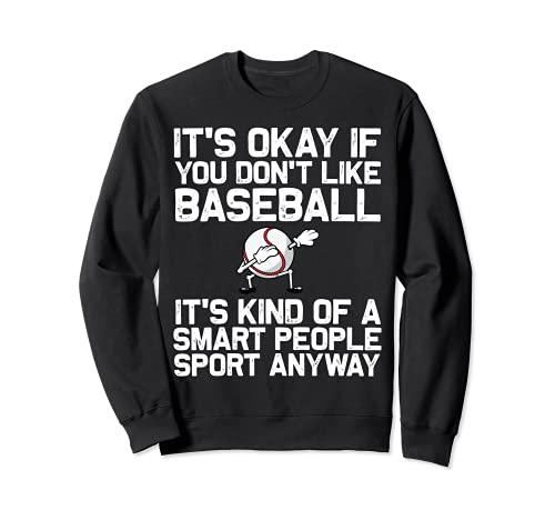 Cool Baseball For Men Women Pitcher Bat Ball Softball Sports Sweatshirt