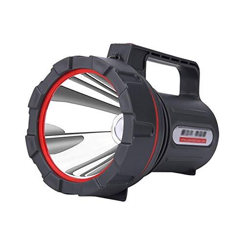 WMKEDB Everyday Flashlights, Lampe de Poche Longue portée Ultra-Brillante Rechargeable de catégorie Industrielle Multifonctions Anti-déflagranteLED, résistant à l'eau, pour Secours, pêche, randonnée,