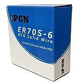 PGN - ER70S-6 .035' (0.9 mm) Mild Steel MIG Welding Wire - 44 Lbs Spool