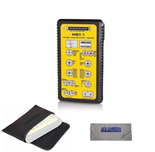 Cheap ZTS Multi Battery Tester - ZTS MBT-1 [New 2019 Version] With Pouch & Cleaning Cloth Kit