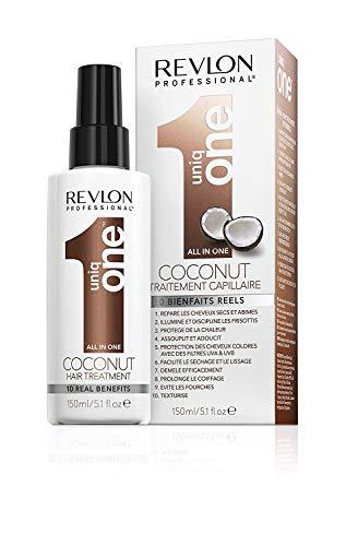 REVLON PROFESSIONAL Uniq One Coconut Hair Treatment Leave-In Conditioner, confezione da 1 (1 x 150 ml)