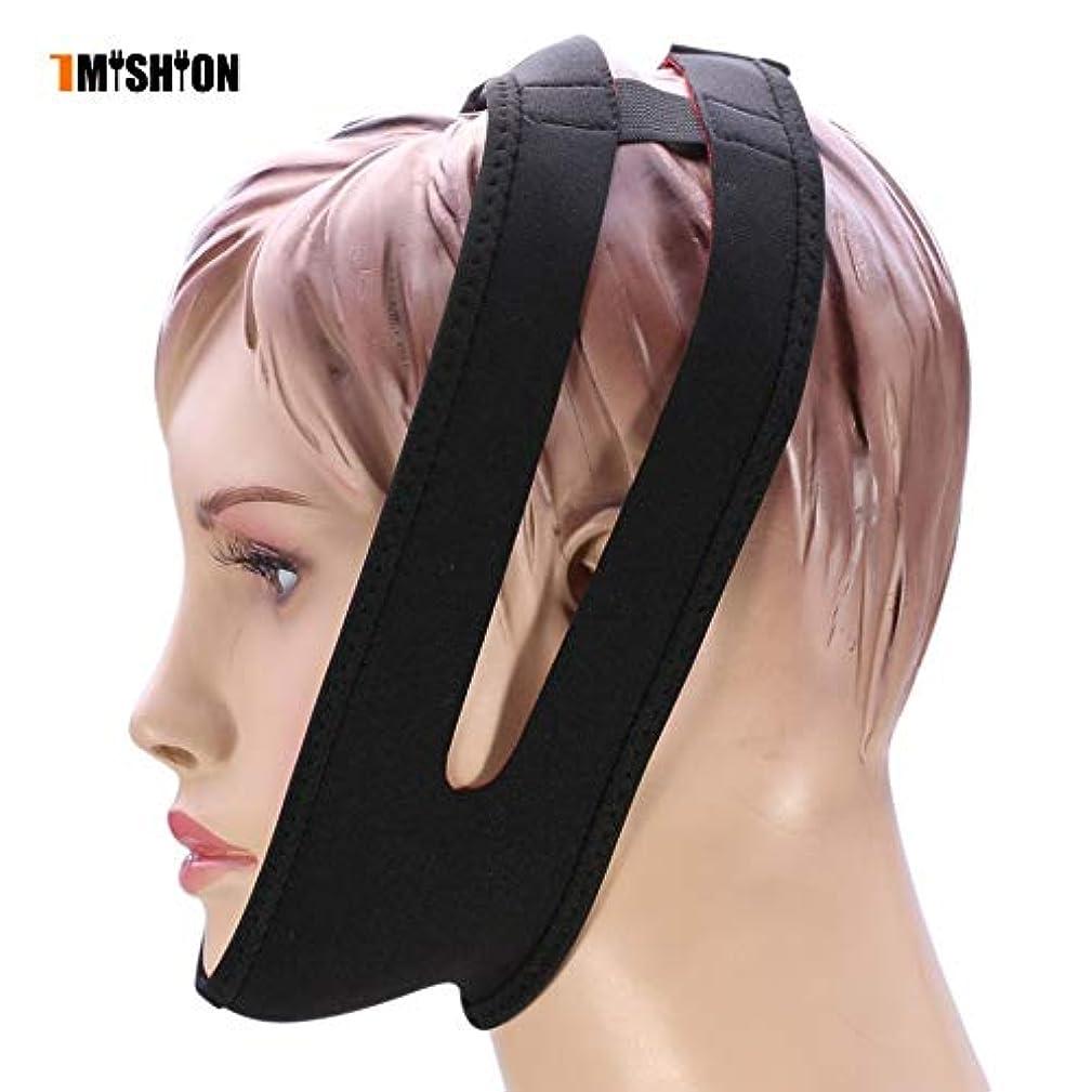 城反毒極小NOTE 1ピースいびきベルト新しい抗いびき睡眠マスクいびき停止ストラップあご顎睡眠サポートベルト