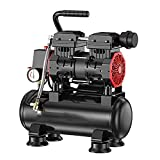 WUK Compresor de Aire silencioso 850/1490/2980 W 12/30/60 L compresor de Aire portátil sin Aceite Bomba de Aire doméstica inflador de neumáticos Herramientas neumáticas para carpintería