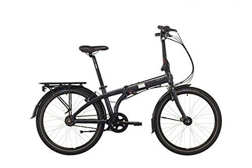 tern Node D7i - Vélo pliant - 24' gris 2016 velo pliable