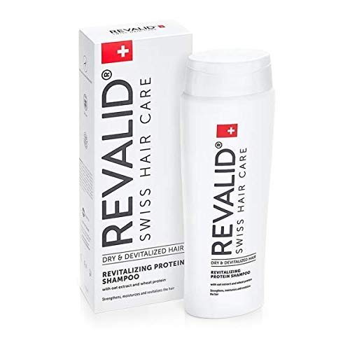 REVALID Revitalizing protein shampoo with oat extract wheat protein and panthenol B5...