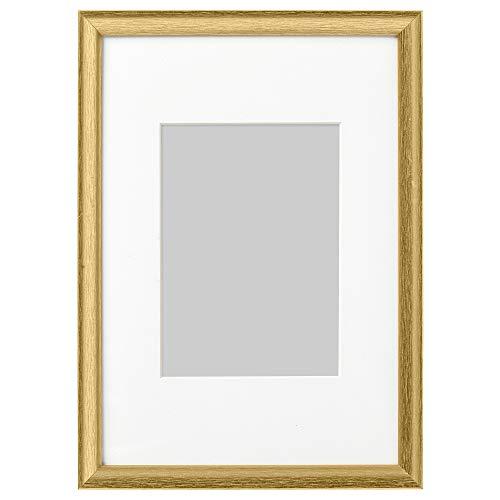 SILVERHÖJDEN ram 21 x 30 cm guldfärgad