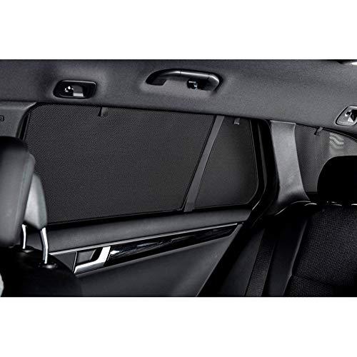 Car Shades BMW-2SGT-5-A Sonnenblenden, Schwarz