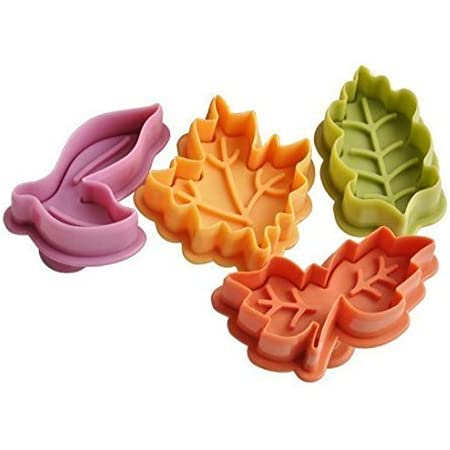 6 Different Geometric Impression Molds Molds Cookie Cutter and Stamper Mold Cute Geometric Design Impressions