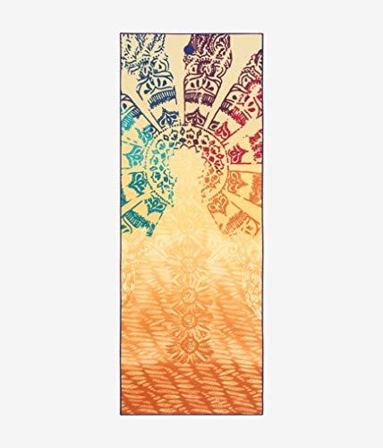 Manduka Yogitoes Skidless Yoga Mat Handdoek - Chakra Print