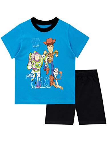 Disney Pijamas Manga Corta niños Toy Story Azul 7-8