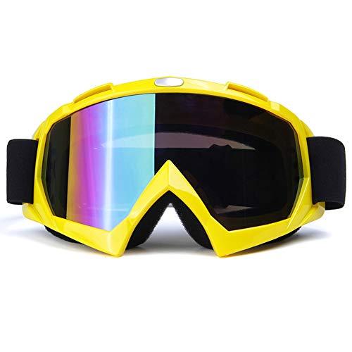 ACBAZEFA Gafas para Exteriores Anti-UV Anti-Glare A Prueba De Viento Motocicleta Gogglesfield...