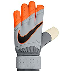Orange and grey Nike GK Spyne Pro Goalie Gloves