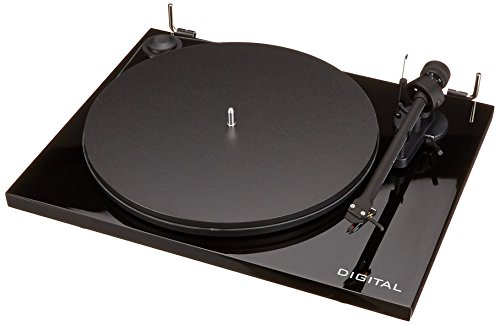 Pro-Ject Essential II Digital USB Turntable - Black