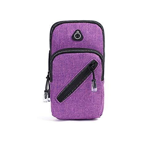 Aptitud De Los Deportes Corriendo Brazalete, Cubierta Protectora del Teléfono Móvil (6 Pulgadas), Apto para iPhone 5S SE 5 5C 6 7 8 X 6S iPod Samsung Galaxy S6 S7 S8 Edge S9 Plus