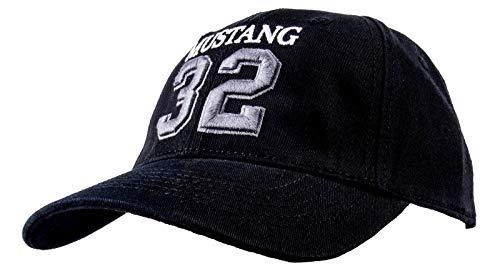 MUSTANG Cap Black