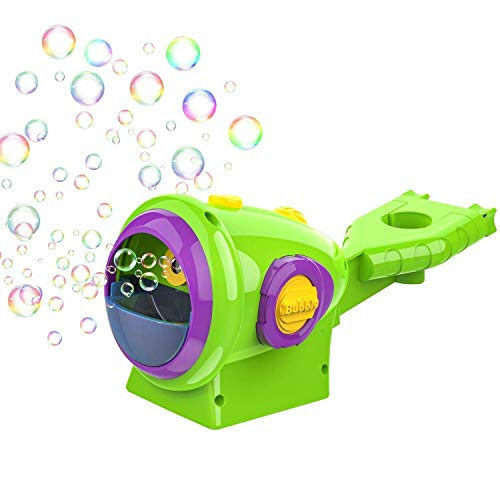 pepape Kids Bicycle Bubble Machine, Automatic Bubble Maker Bubble Blower with 4oz Bubble Solution for 3/4/5/6 Years Kids Summer Party Favors, Summer Toy, Outdoors Activity, Birthday Gift