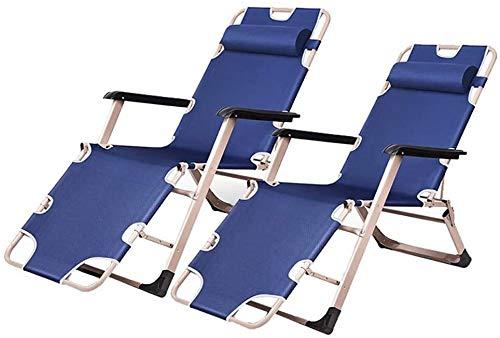 DFVV Tumbonas Playa Plegable sillas reclinables tumbonas for jardín al Aire Libre Patio Tumbona