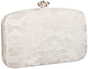 JINGXU Women's Clutch Retro Banquet Lace Evening Bag
