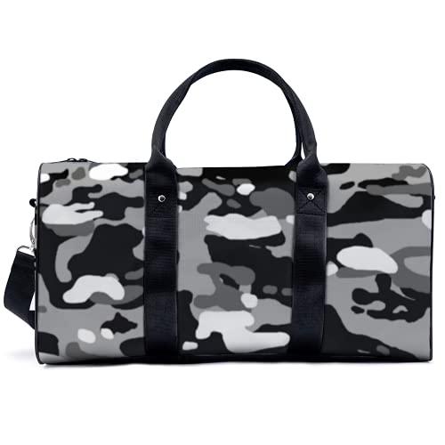 Borsa sportiva da palestra Potable Sport Duffel Bag Urban Camouflage Borsa Yoga Borsa Borsa a Spalla Borsa Da Viaggio Borsa Grande Capacità per Uomini Donne