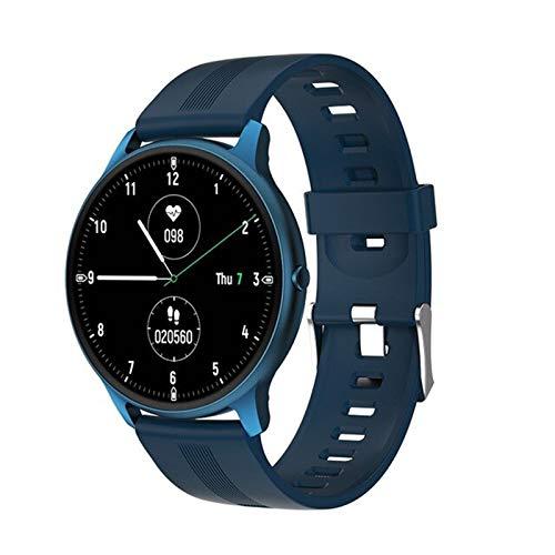 FZXL Nuevo LW11 Smart Watch 2020 Menor De Ritmo Cardíaco De Las Mujeres para Hombre Smartwatch Waterproof Fitness Tracker Watch,B