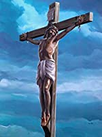 DMFNGJSD 数字油絵 フレーム付き 、数字キット塗り絵 手塗り DIY絵-イエス・キリスト-デジタル油絵 40x50 cm