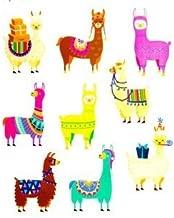 Cute Llama Scrapbook Stickers - 2 Sheets