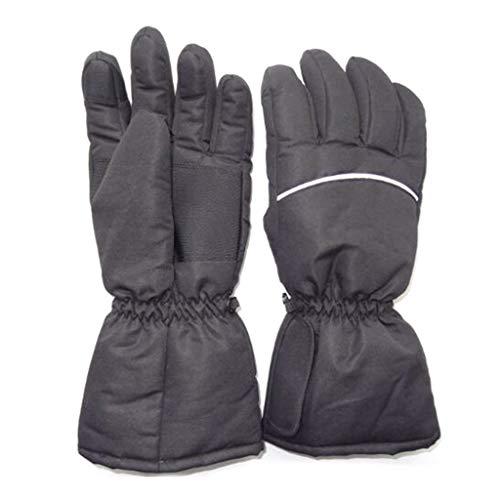 Handschoenen dames winter touchscreen, hothap neutrale elektrische batterij verwarmde handschoenen waterdicht warm