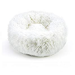 TUOTANG Ultra-soft plush pet beds kennel dog cat round warm winter sleeping bag cushion pad portable puppy dog and cat supplies cat