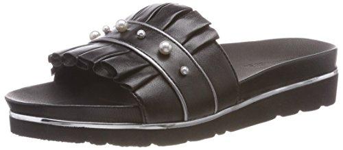 Gerry Weber Shoes Damen Derma 02 Pantoletten, Schwarz Schwarz, 37 EU